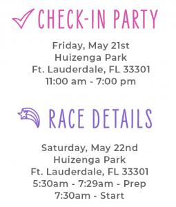 Ft. Lauderdale Race Details
