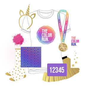 Glow-For-Gold Participant Kit